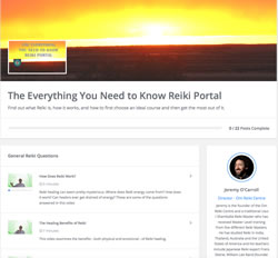 Reiki Video Portal Image